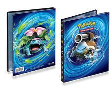 *New* Pokemon Ultra Pro 4 Pocket Xy Evolution Blastoise Card Album Portfolio