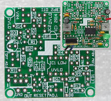 Battery protection low V shut-off switch PCB, DIY solar lithium li lead acid LVD