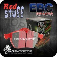 NEW EBC REDSTUFF FRONT BRAKE PADS SET PERFORMANCE PADS OE QUALITY - DP32076C