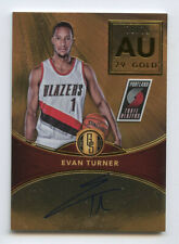 Evan Turner 2016-17 Panini Gold Standard AU 79 Gold Autograph /79 BY2708