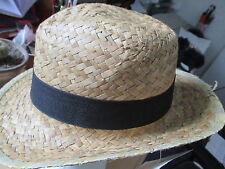 chapeau de paille neuf