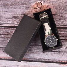 Watch Box Leather Jewelry Wrist Watches Display Storage Box Organizer Gift new~