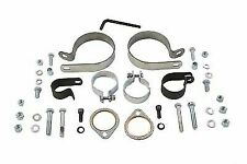 Dual Exhaust Clamp Kit for Harley Davidson by V-Twin