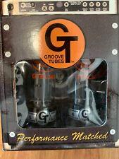 Groove Tubes, GT-EL34-R-M Tubes, Matched Quartet - Medium 6 Rating