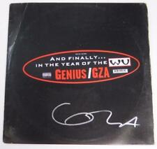 "GZA Genius WU TANG CLAN Signed Autograph ""Liquid Swords"" Album Vinyl Record LP"