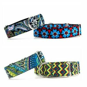 Personalized Fabric Super Strong Durable  Martingale Collars for Dogs Heavy