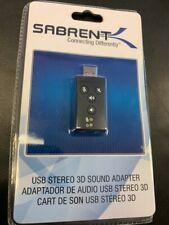 Sabrent USB 1.0/1.1 (USB-SBCV) Sound Card