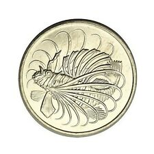 elf Singapore 50 Cents 1979  Lionfish  Fish