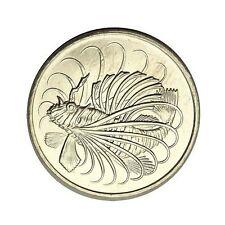 elf Singapore 50 Cents 1975  Lionfish  Fish