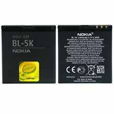 100% Genuine Nokia C7-00 N85 N86 8MP X7-00 701 Battery BL-5K (OEM Original)