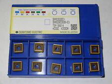 10 new SUMITOMO ELECTRIC SNMG 322-EEX AC630M Carbide Turning Inserts 090308N-EX
