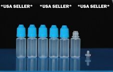 50 pcs 10ml EMPTY PLASTIC SQUEEZABLE DROPPER BOTTLES LDPE