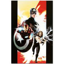AVENGERS Original Giclee Marvel Artworks Comics Stan Lee Captain America Thor