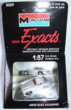 EXACTS MONOGRAM HO 1/87 MERCEDES 300 SL GULLWING BOX