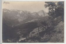 (F560) Original Foto Retterschwanger Tal mit Mitterhaus, Oberallgäu, vor 1945