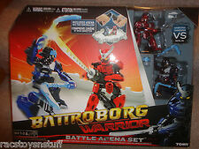 BATTROBORG WARRIOR BATTLE ARENA SET. SAMURAI VERSUS NINJA , NEVER OPENED