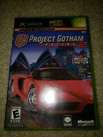 Project Gotham Racing 2 Video Game For Original OG Microsoft Xbox Complete CIB