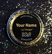 Personalised Vaseline Lip Therapy Tin (GOLD DUST)