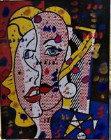 "KINO MISTRAL  OMAGGIO a   -  ROY LICHTENSTEIN  "" FEMALE HEAD """