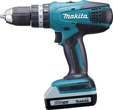 Makita Cordless 18v Li-ion Combi Drill 2 Batteries HP457DWEX2