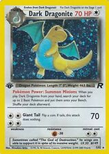 DARK DRAGONITE 1ST Edition Holo Rare Pokemon Card 5/82 Team Rocket Near Mint