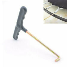 Trampoline Spring Pull Tool T-Hook for Trampoline Install Your Jump Pad Black