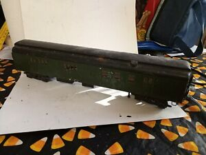 Train Wooden Painted Green And Black