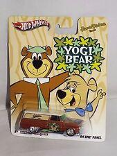 Hot Wheels Nostalgia Pop Culture Hanna-Barbera Yogi Bear '64 GMC Panel