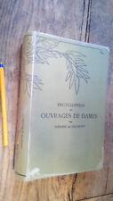 Encyclopédie des ouvrages des dames Thérèse de Dillmont couture tricot dentelle