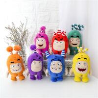 Anime Oddbods Stuffed Plush Soft Toys Bubbles PP Cotton Doll Birthday Gift 24cm
