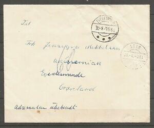 GREENLAND -  Letter to Jensigne Mikkelsen, Egedesminde. Se items description.