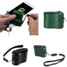 Emergency Hand Crank Mobile Phone Generator Manual USB Charger Dynamo Portable