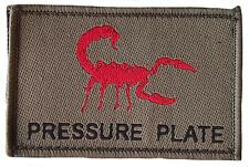 """""""Pressure Plate"""" Morale Patch/Velcro Backed"""