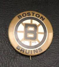 "Vintage Boston Bruins NHL Hockey Pinback Button Pin 1-1/4"""