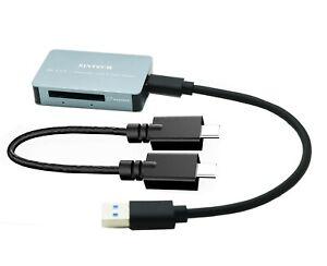 Sintech USB 3.0 CFexpress Type-B Card Reader,USB 3.1 Gen 2 10Gbps Memory Reader