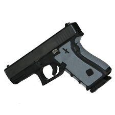 FoxX Grips, Gun Grips for Glock 43 9mm Grip Enhancement System Non Slip New GREY