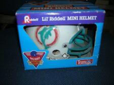 Lil' Riddell Team NFL Mini Football Helmet Miami Dolphins