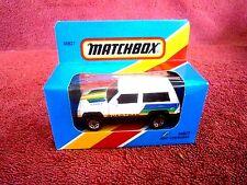 MATCHBOX 1981  MB 27  JEEP  CHEROKEE  [QUADTRAK]   MADE IN  MACAU  UNOPENED