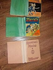 LOT old Vintage antique set wizard of oz book collection Frank Baum collection