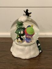 Veggie Tales A Very Merry Christmas Snowboardin Bob 1999 Big Ideas Snow Globe