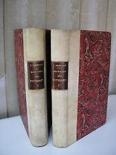 MARRYAT : HISTOIRE DES POTERIES, FAÏENCES, PORCELAINES 614 figures 1866