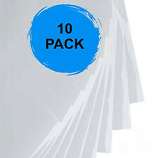 10pcs/lot Inkjet/Laser Water Slide Decal Paper Cleart/White A4 Size Transfer