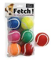 Dogs Fetch Tennis Balls Ruff n Tumble  6 x Balls Dog Toys  SAMEDAY DISPATCH