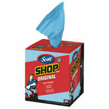 "Scott 75190 Shop Towel, Blue, 12"" x 10"", 200 Count"