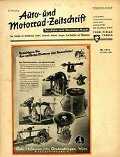 Der Auto-Markt 1950 12/13/50 Auto- und Motorrad-Zeitschrift Motra Wiesel 75 ccm
