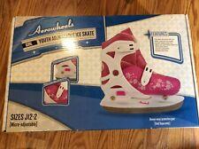 New listing Aerowheels Girls' Adjustable Youth Ice Skates J12-2 Beginner