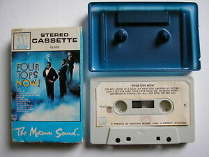 MC*MUSIKKASSETTE*TAPE* THE  FOUR TOPS  NOW *MOWTOWN*SOUL
