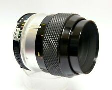 NIKON MICRO NIKKOR-P AUTO 55MM F3.5, THIS IS A VERY CLEAN LENS IN FINE CONDITION
