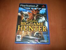 CABELA´S BIG GAME HUNTER PS2 (PAL ESPAÑA PRECINTADO)