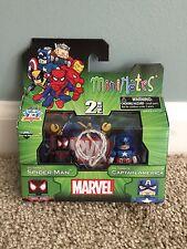 Marvel Minimates TRU Series 14 Ultimate Spider-Man Miles Morales Captain America